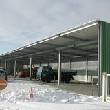 Carport-für-LKW